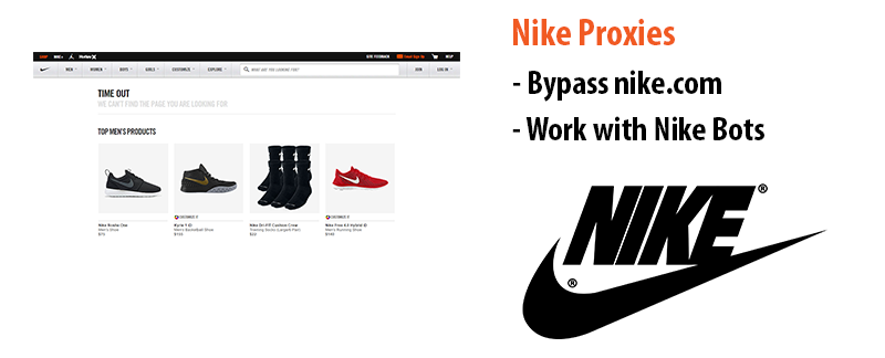proxies for nike
